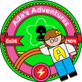 Ada's Adventure badge