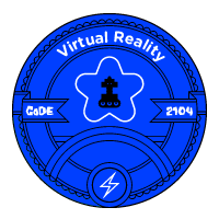 Virtual Reality badge